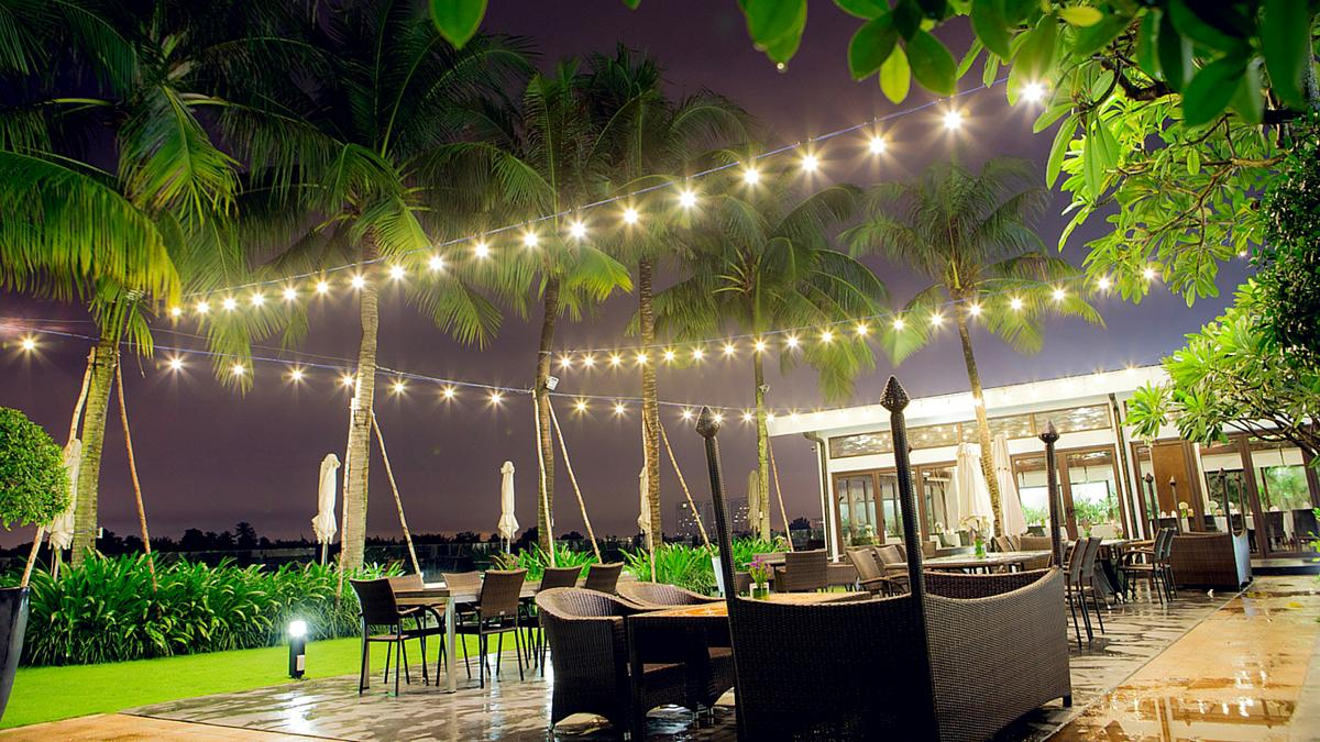 Private Dining Venues for Party at Villa Song Saigon Bistro Song Vie - All day dining riverside restaurant