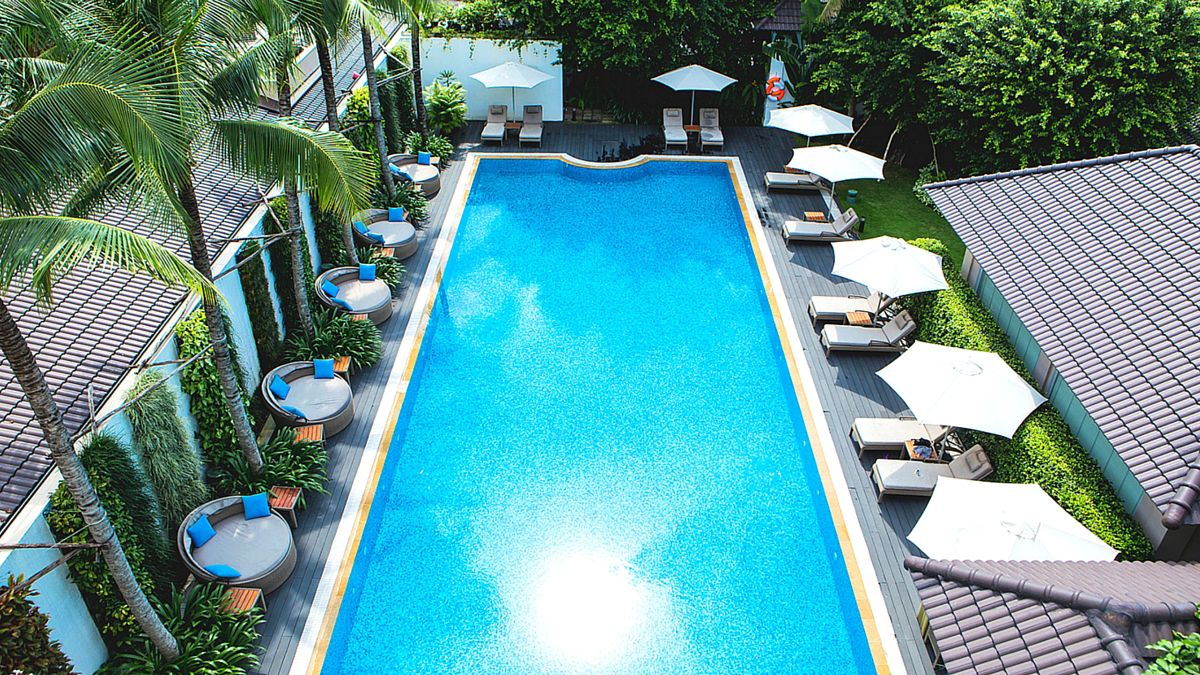 Salt Water Pool Gym And Other Facilities Villa Song Saigon Hotel