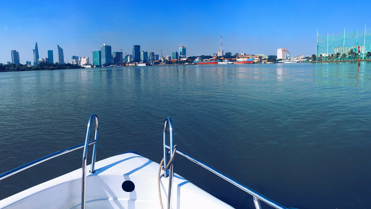 Villa Song Saigon Hotel Transfer - Hotel Shuttle Boat view