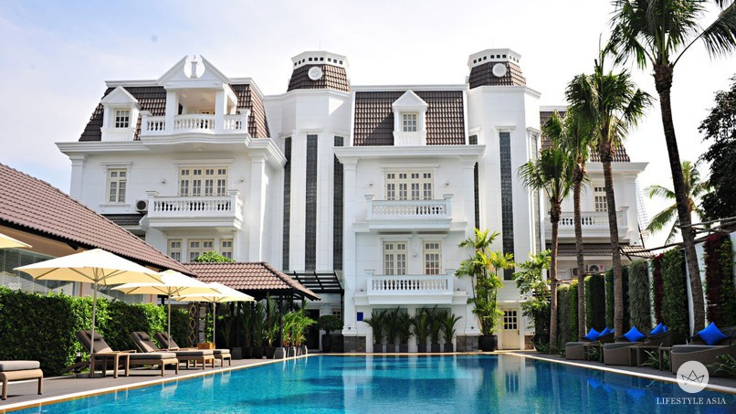 Salt Water Pool - Hotels with Swimming Pool - Villa Song Saigon