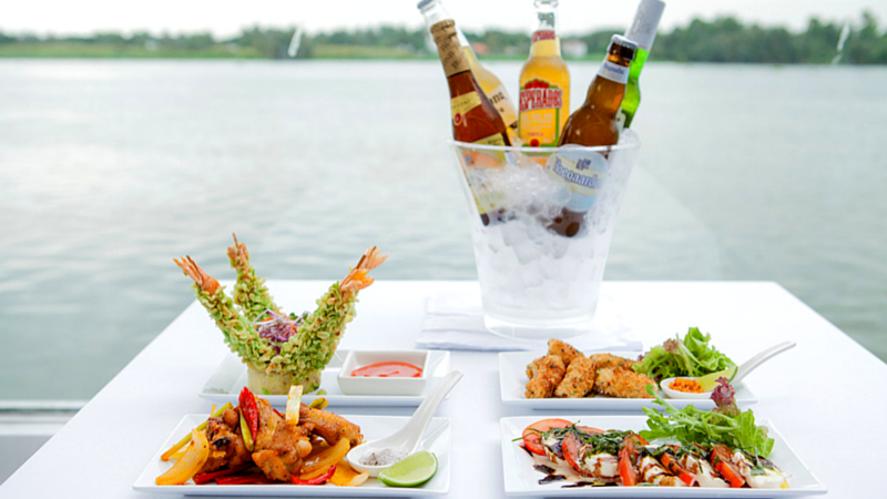Villa Song Saigon Luxury Boutique Hotel - Beers and snack buddies