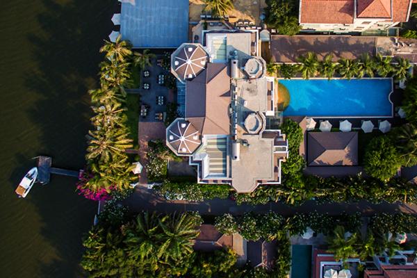 Villa-Song Saigon Boutique Luxury Hotel Vietnam Slider Mobile Overhead
