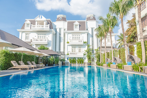 Villa Song Saigon Boutique Luxury Hotel Vietnam Salt Water Pool