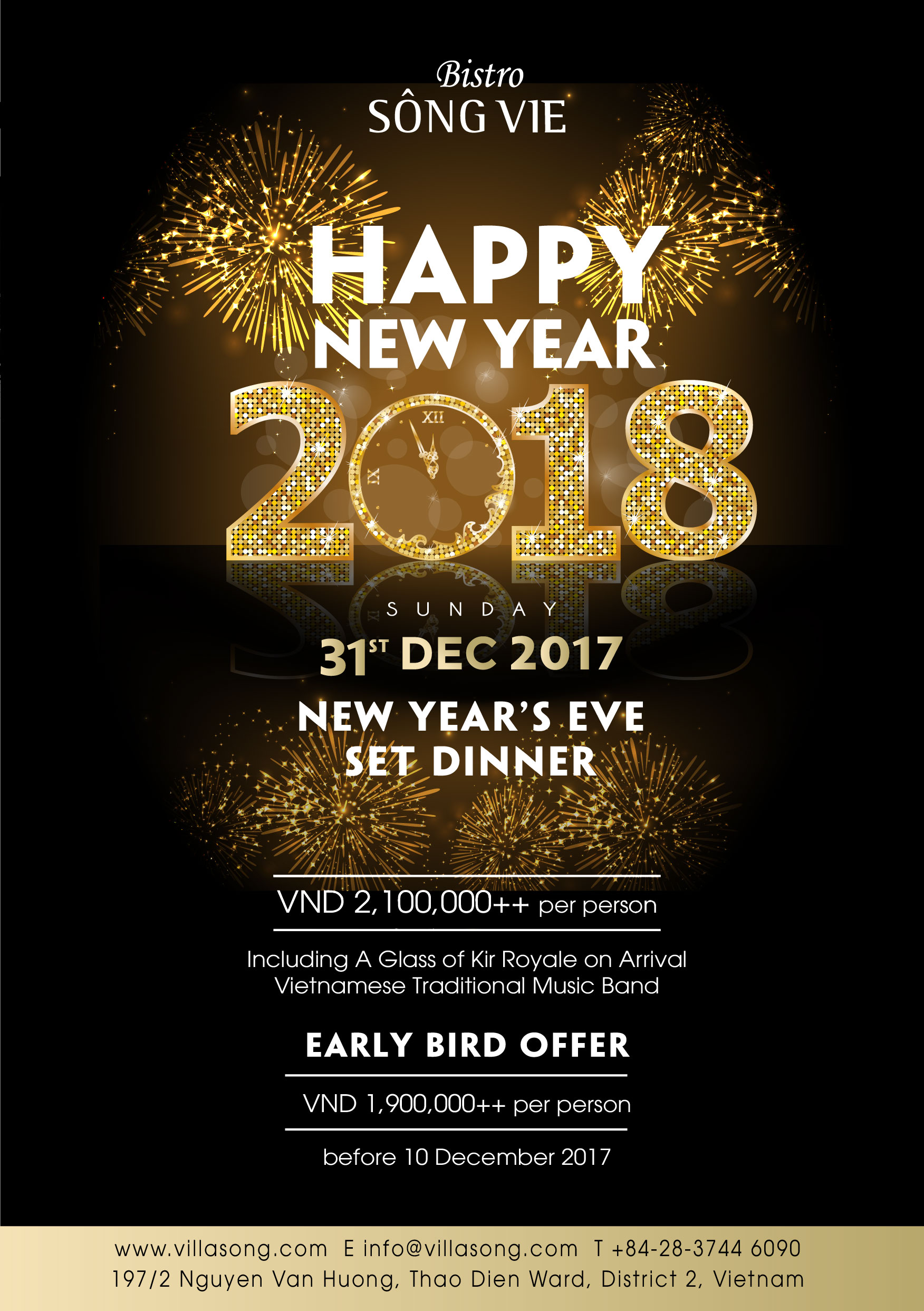 New Year Eve 2017 offer