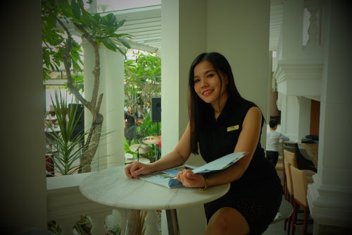 Nhu - Villa Song Saigon Hotel Front Office Manager