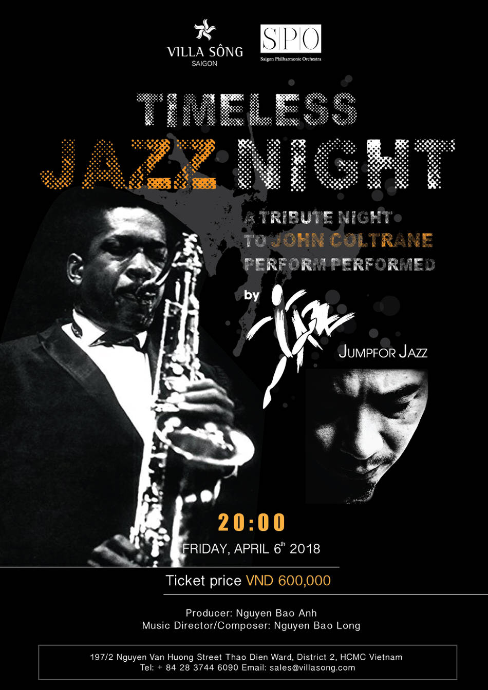 Timeless Jazz night at Villa Song Saigon